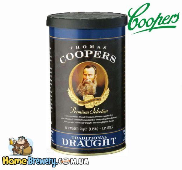 Солодовый концентрат Coopers Traditional Draught 1,7кг