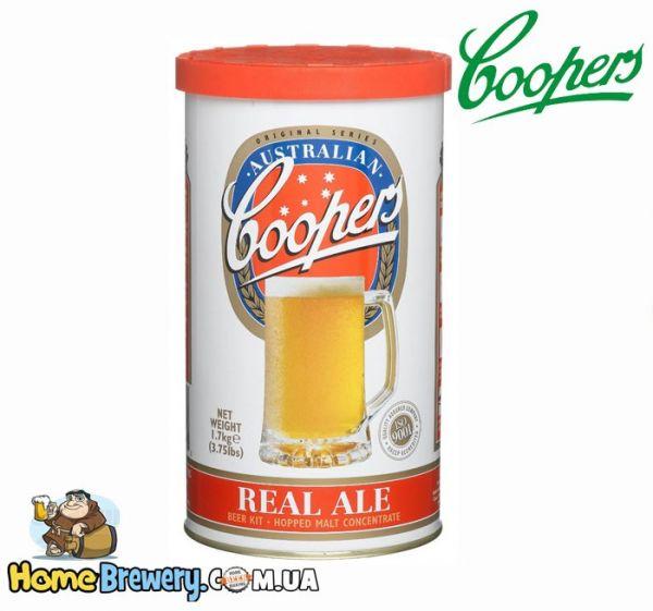 Солодовый концентрат Coopers Real Ale 1,7кг