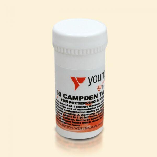 Стабилизирующее средство для вина Campden Tablets 50шт