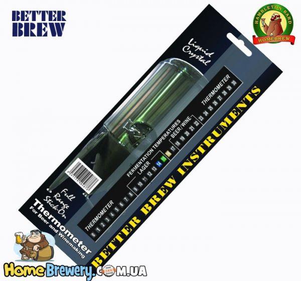 Термометр самоклеющийся Full Range LCD Thermometer Better Brew