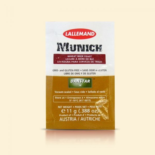 Дрожжи для пшеничного пива Munich Wheat Beer Dry Yeast