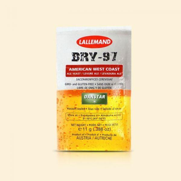 Дрожжи пивные элевые Danstar BRY-97 American West