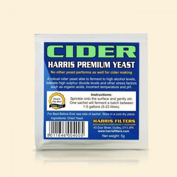 Дрожжи для сидра Harris Premium Cider Yeast