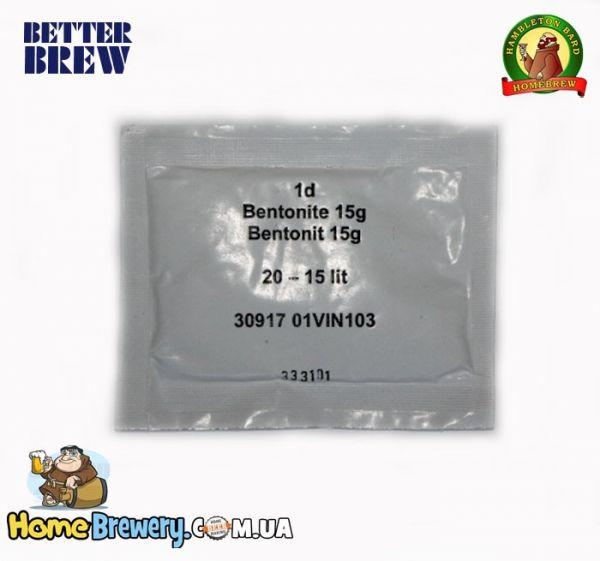 Бентонит 15г для осветления вина
