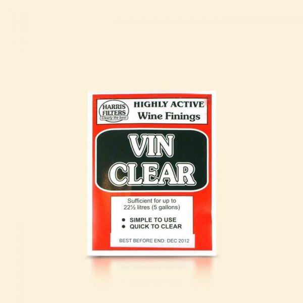 Сухое средство для осветления вина Harris Vinclear