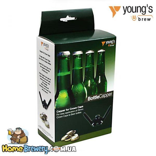 Укупорщик пивных бутылок Young's Beer Capper