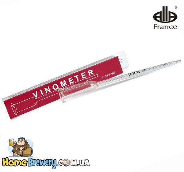 Винометр (vinometer) Alla для измерения алкоголя в вине