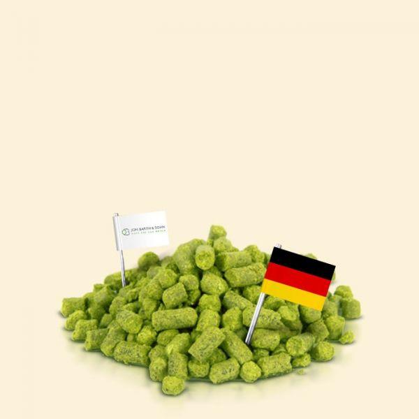 Хмель Hallertau Hersbrucker (Германия) 100г