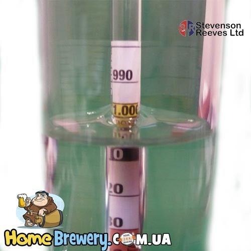 Гидрометр трехшкальный S1011 для производства вина и пива
