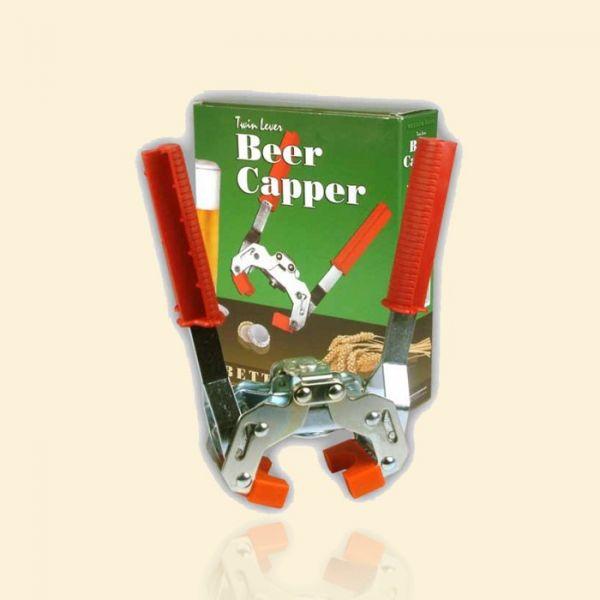 Металлический укупорщик кроненпробок Better Brew Twin Lever Beer Capper