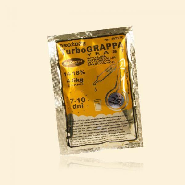 Дрожжи для граппы и чачи Turbo Grappa Yeast