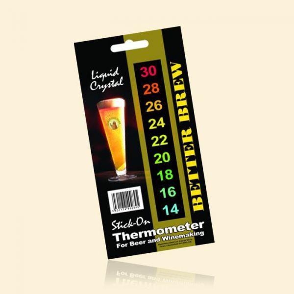 Термометр самоклеющийся Better Brew Stick-On-Thermometer (Великобритания)
