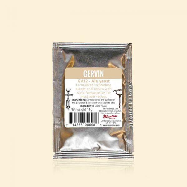 Дрожжи пивные GERVIN GV12 Ale Yeast (Великобритания)