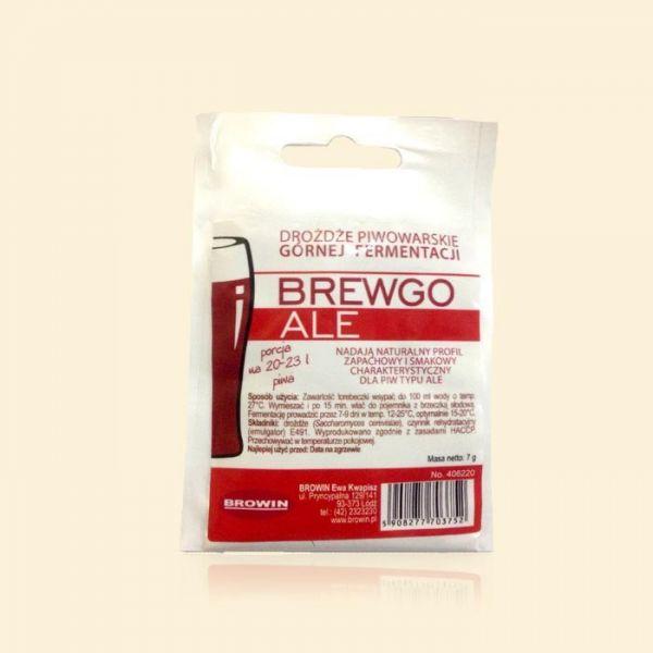 Дрожжи пивные элевые BrewGo ALE