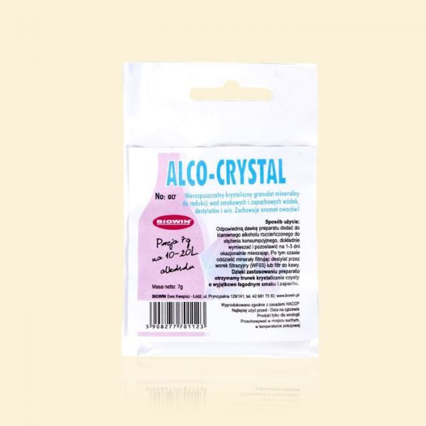 ALCO-CRYSTAL для улучшения вкуса и аромата дистиллятов