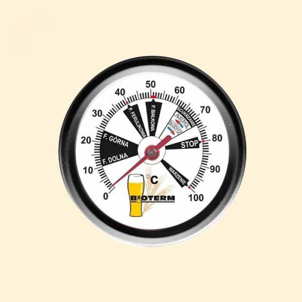 Термометр пивоварский 0-100С