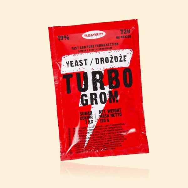 Спиртовые турбо дрожжи Turbo Grom Yeast 72h