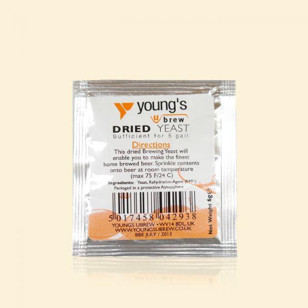Универсальные элевые дрожжи Young's Dried Yeast 6г