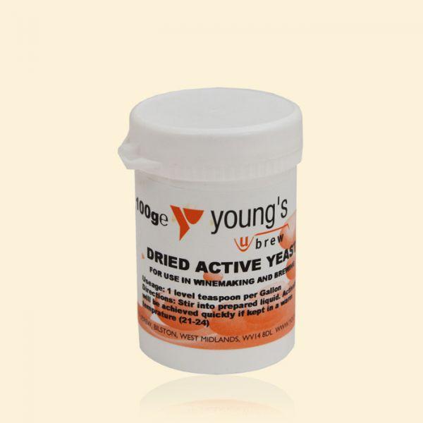 Активные сухие дрожжи Young's Dried Active Yeast 100г