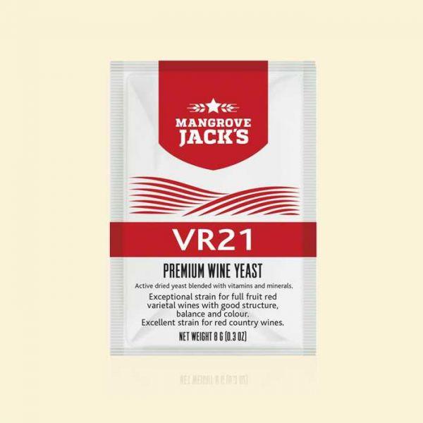 Дрожжи для красных домашних вин Mangrove Jack's VR21