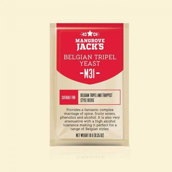 Дрожжи Mangrove Jack's Belgian Tripel Yeast M31