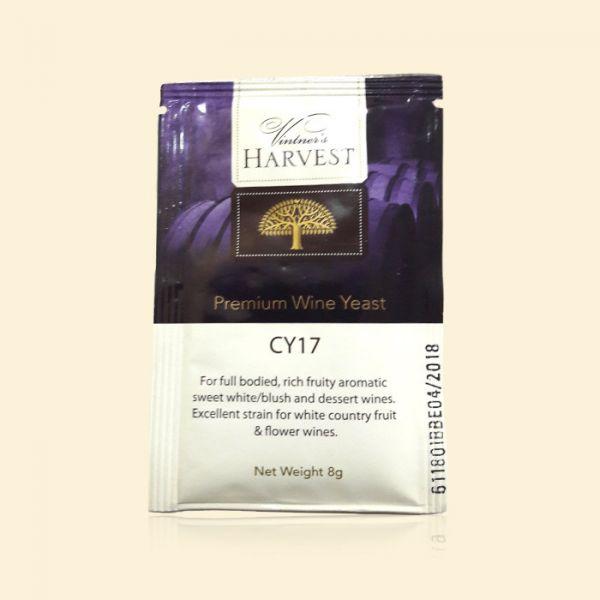 Дрожжи для сладких белых и розовых вин Mangrove Jack's CY17