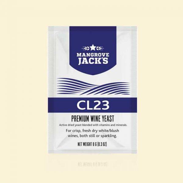 Дрожжи для игристых и фруктовых вин Mangrove Jack's CL23