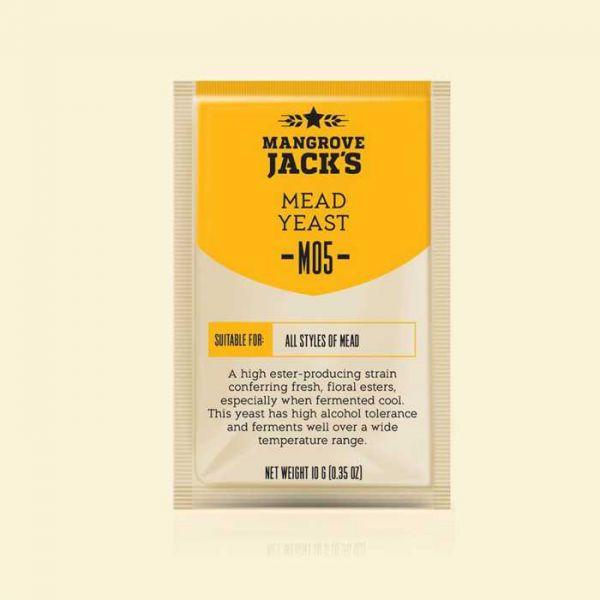 Дрожжи для медовухи Mangrove Jacks Mead M05