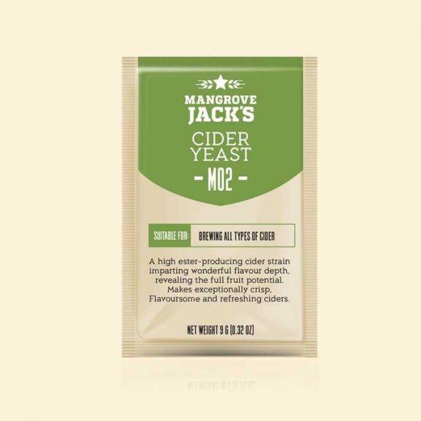 Дрожжи для сидра Mangrove Jacks Cider M02