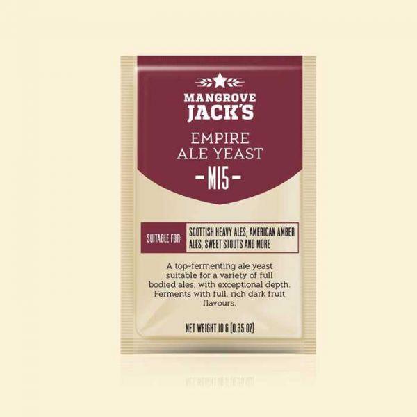 Дрожжи Mangrove Jack's Empire Ale M15