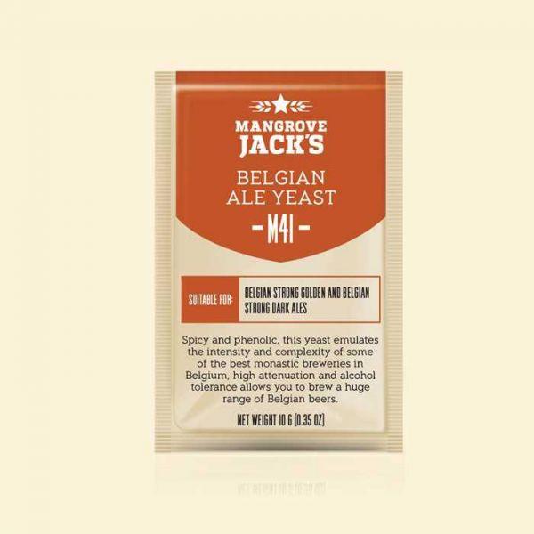 Дрожжи Mangrove Jack's Belgian Ale M41