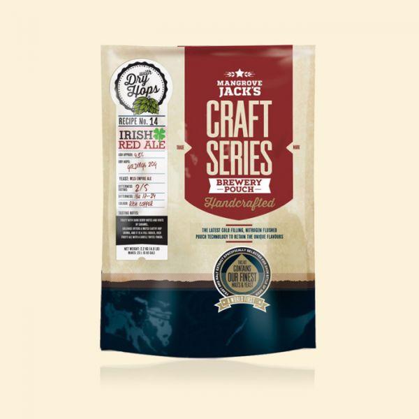 Солодовый экстракт Mangrove Jack's Irish Red Ale (2,5кг) с сухим хмелем