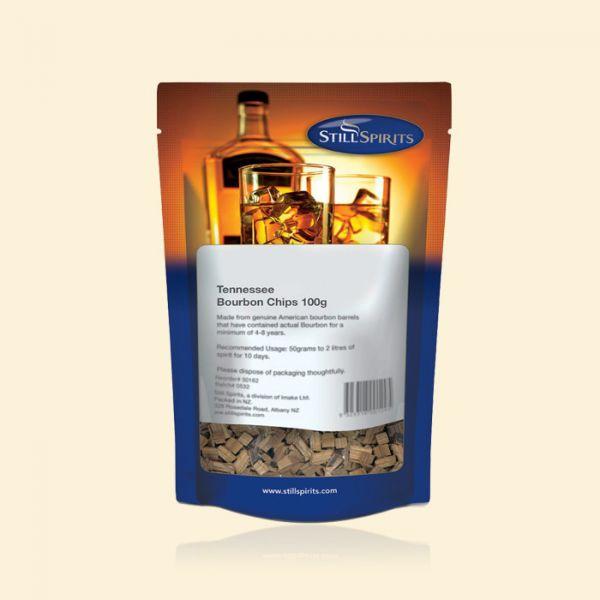 Чипсы из вискарных бочек Tennessee Bourbon Chips 100g