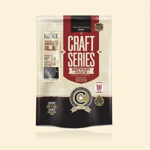 Солодовый экстракт Mangrove Jack's Chocolate Brown Ale (2,2 кг)