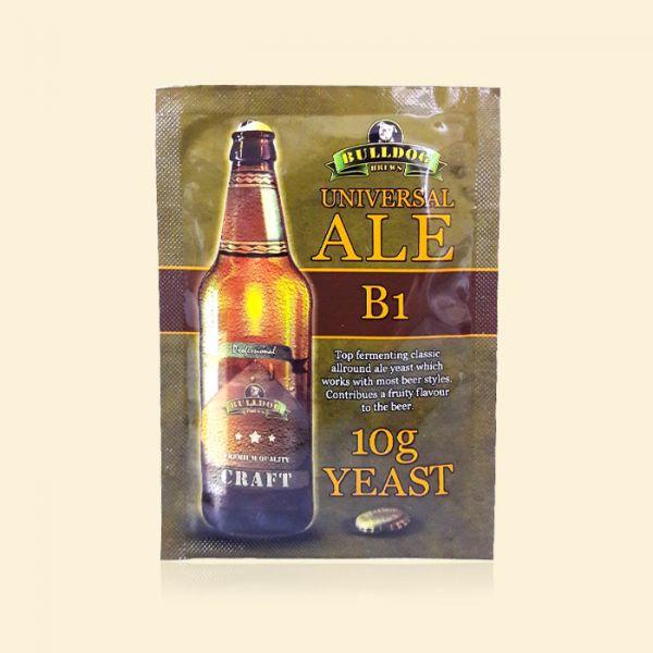 Крафтовые пивные дрожжи Bulldog B1 Universal Ale