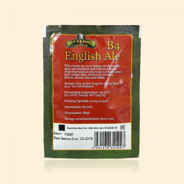Крафтовые пивные дрожжи Bulldog B4 English Ale