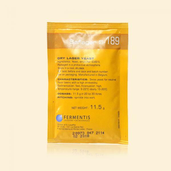 Дрожжи пивные Fermentis Salager S-189