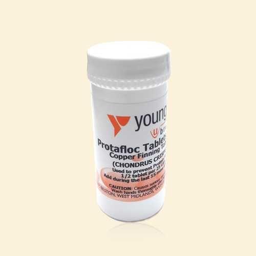 Таблетки Young's Protafloc Tablets 10шт.