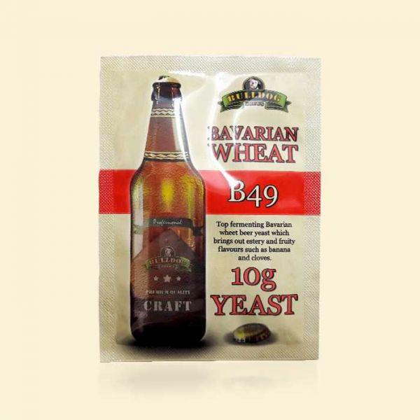 Крафтовые пивные дрожжи Bulldog B49 Bavarian Wheat