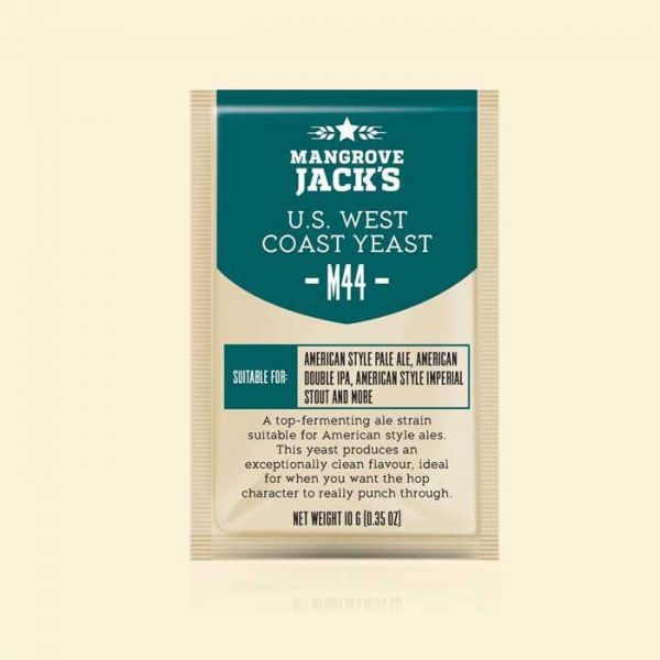Дрожжи Mangrove Jack's US West Coast Yeast M44