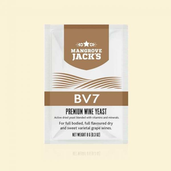 Дрожжи для белых вин Mangrove Jack's BV7