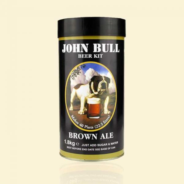 Экстракт пива John Bull Brown Ale 1,8кг