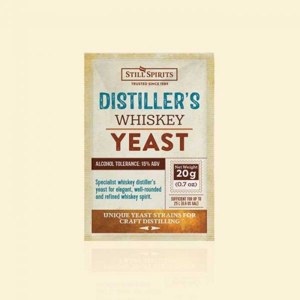 Дрожжи для виски Still Spirits Whiskey Distiller's Yeast 20г