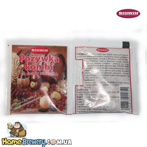 Подкормка для винных дрожжей Biowin KOMBI