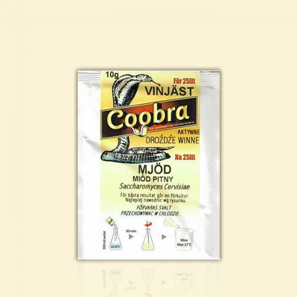 Дрожжи для медовых вин и дистиллятов Coobra Mjоd (мёд)