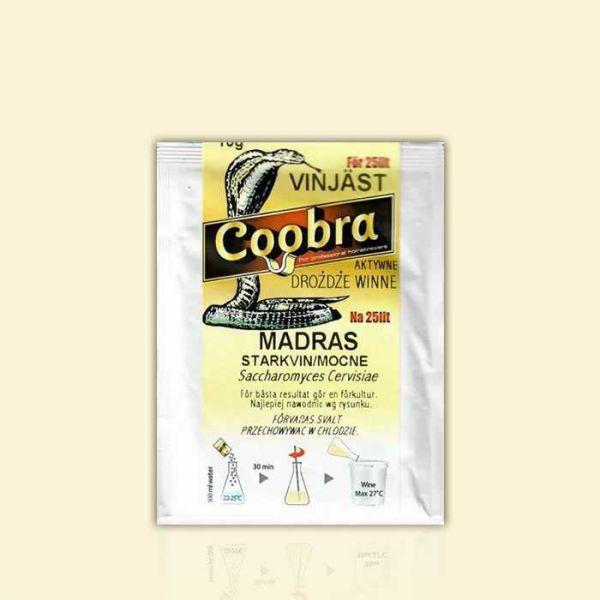 Дрожжи для крепких красных вин в стиле Мадера Coobra MADRAS