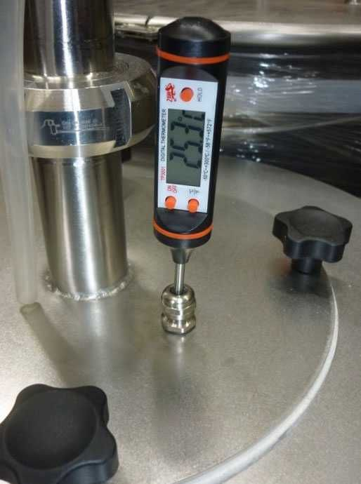 Ниппель для установки термометра