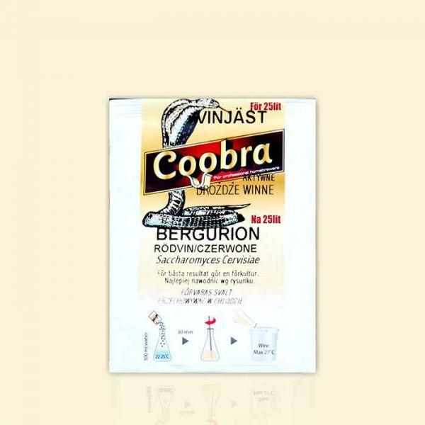 Дрожжи для красных столовых вин Сoobra Bergurion