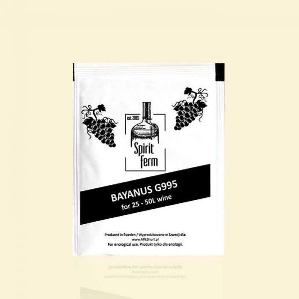 Универсальные винные дрожжи Spirit Ferm Bayanus G995