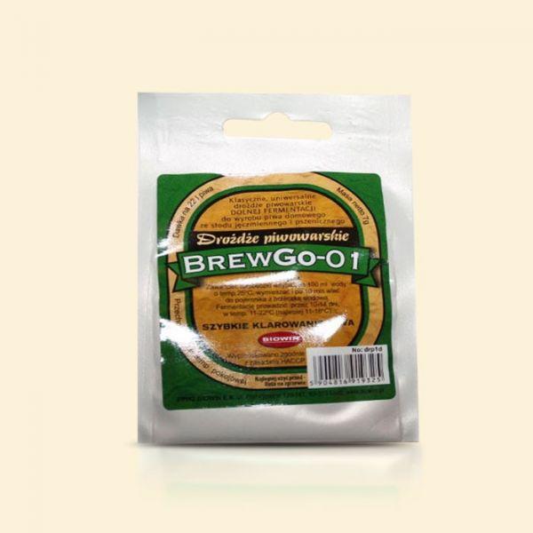 Лагерные пивные дрожжи BrewGo-01